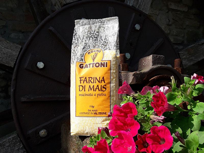Farina di mais macinata a pietra - Molino Gattoni