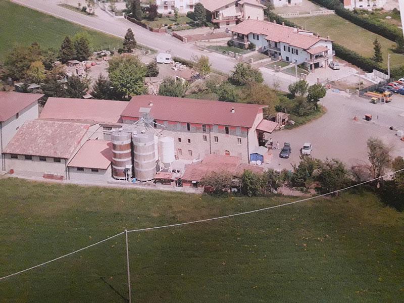 Vista aerea Molino Gattoni